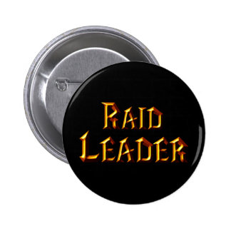 Raid Leader 6 Cm Round Badge