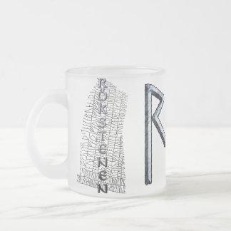 Raidho rune mug