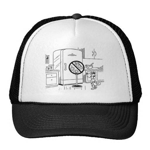 Raiding Refrig Cartoon Trucker Hat
