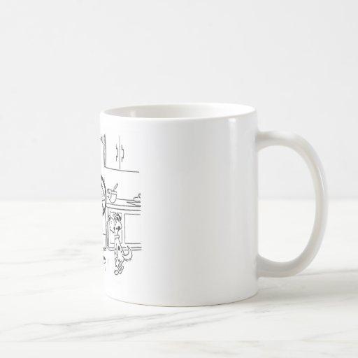Raiding Refrig Cartoon Mug