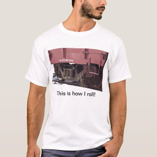 Rail Car Comp Shoes - T-Shirt