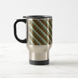 Rail Fence - Chocolate Mint Coffee Mug