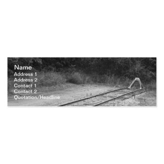 Rail Siding Business Card