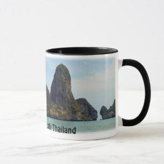 Railay Beach Krabi Thailand Mug