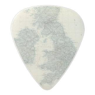 Railroad and Canals of British Isles Acetal Guitar Pick