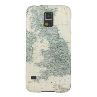Railroad and Canals of British Isles Cases For Galaxy S5