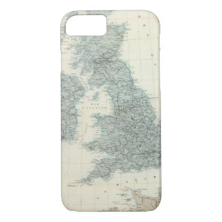 Railroad and Canals of British Isles iPhone 8/7 Case
