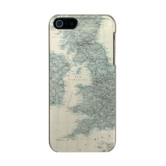 Railroad and Canals of British Isles Incipio Feather® Shine iPhone 5 Case