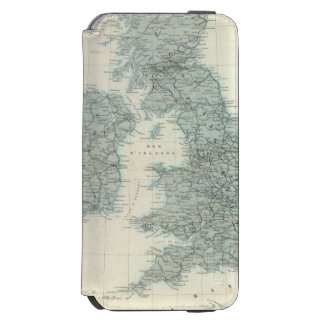 Railroad and Canals of British Isles Incipio Watson™ iPhone 6 Wallet Case