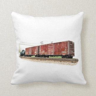 Railroad Boxcars Cushion