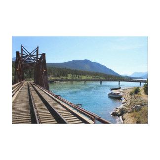 Railroad Bridge 1 Canvas Print