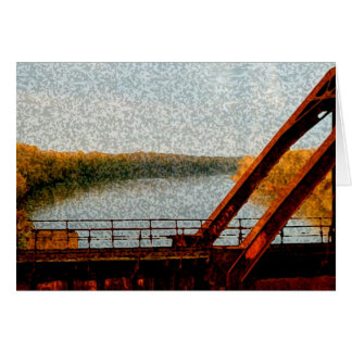 Railroad Bridge Card