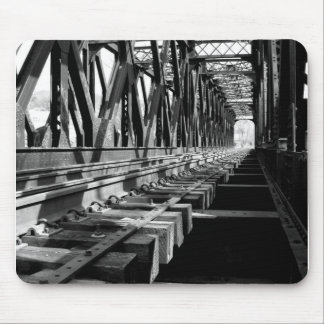 railroad bridge mousepad