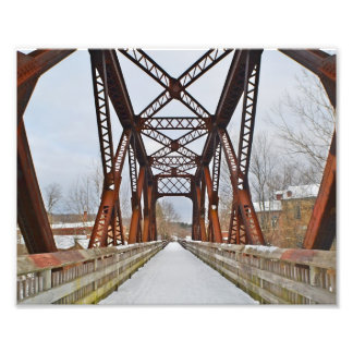 Railroad Bridge Photo Print