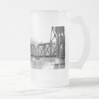 Railroad Bridge Stien Mug