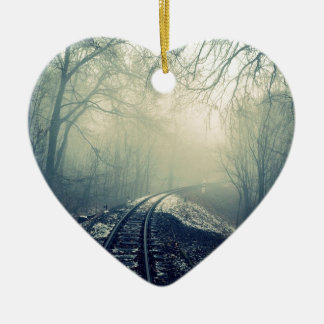 Railroad Christmas Ornament