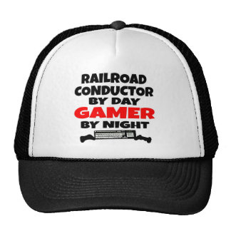 Railroad Conductor Gamer Cap