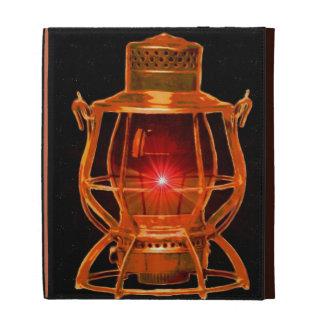 Railroad Copper Lantern iPad Cases