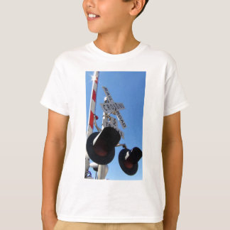 Railroad Crossing lights and arm T-Shirt
