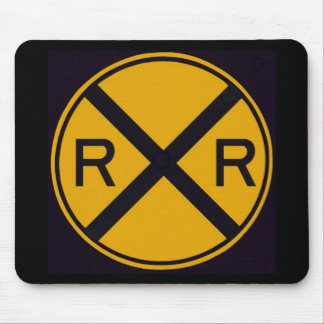 Railroad Crossing Mouse Mat