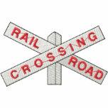 Railroad Crossing Polo Shirts