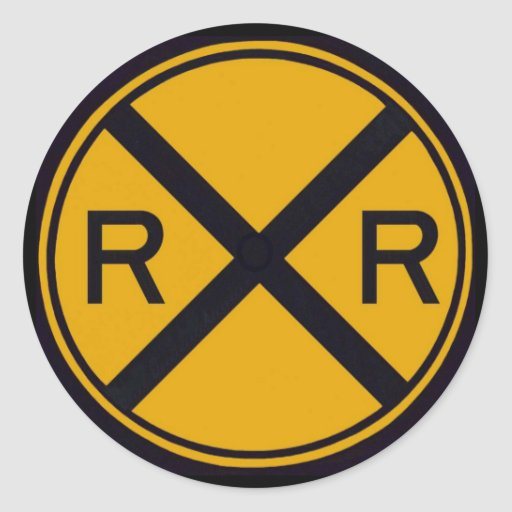 Railroad Crossing Stickers