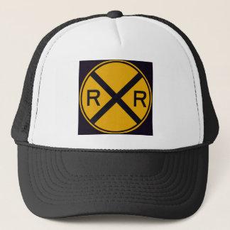 Railroad Crossing Trucker Hat