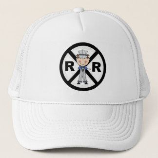 Railroad Engineer-Boy T-shirts and Gifts Trucker Hat