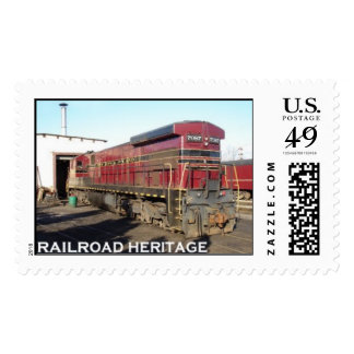 Railroad Heritage Stamps