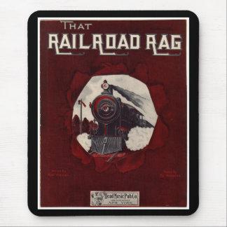 Railroad Rag Musical Mouse Pad