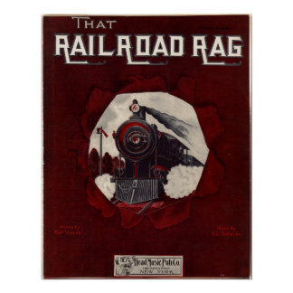 Railroad Rag Musical Poster