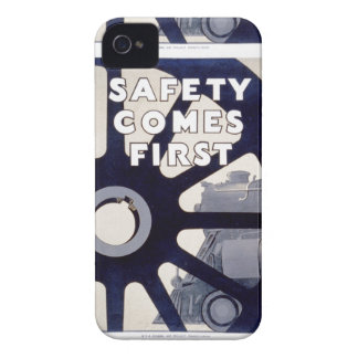 Railroad Safety Comes First Vintage iPhone 4/4S iPhone 4 Cases