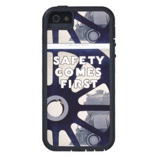 Railroad Safety Comes First Vintage iPhone 5 Cases
