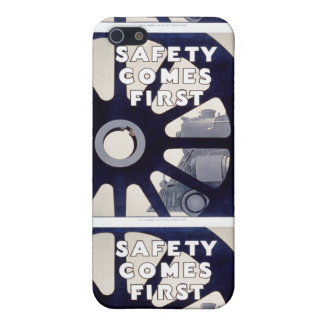 Railroad Safety Comes First Vintage Covers For iPhone 5