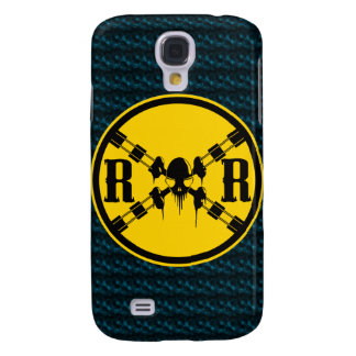 Railroad Sign Crossing Galaxy S4 Cover