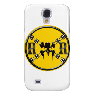 Railroad Sign Crossing Galaxy S4 Covers