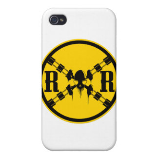 Railroad Sign Crossing Cases For iPhone 4
