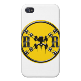 Railroad Sign Crossing Covers For iPhone 4