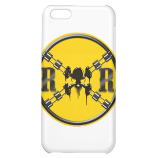 Railroad Sign Crossing Case For iPhone 5C