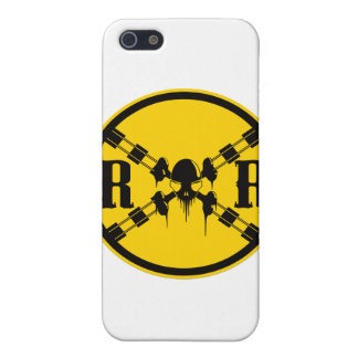 Railroad Sign Crossing iPhone 5 Covers