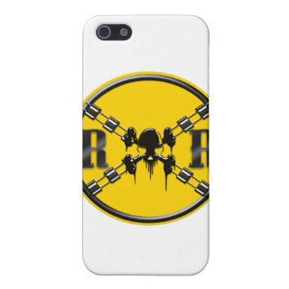 Railroad Sign Crossing Covers For iPhone 5