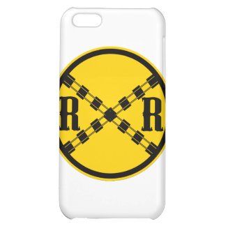 Railroad Sign Crossing Cover For iPhone 5C