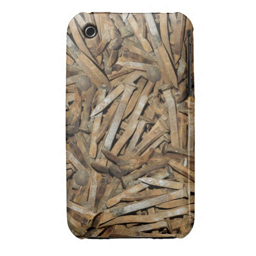 Railroad Spikes iPhone 3 Case-Mate Cases