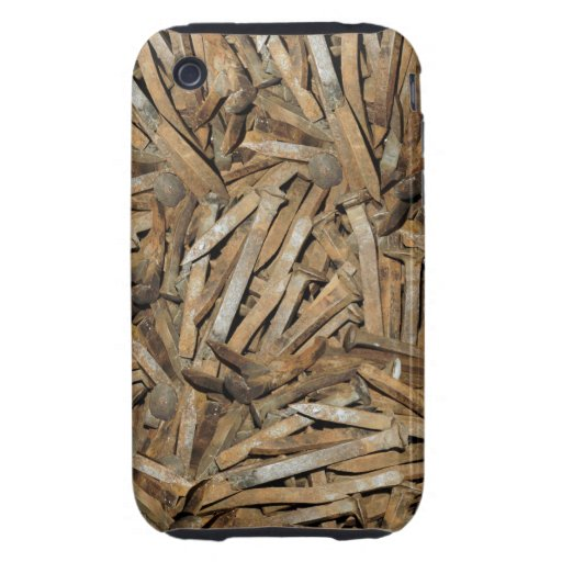 Railroad Spikes Apple Iphone3 Case