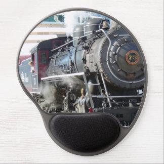 Railroad Steam Engine MousePad Gel Mouse Mat