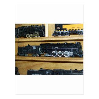 "Railroad Steam Engines....""Steamin On"" Postcard"