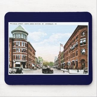 Railroad Street, St. Johnsbury, Vermont Mouse Pad