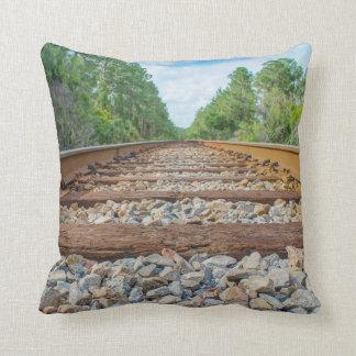 Railroad Throw pillows