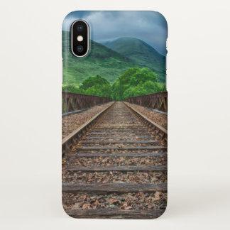 Railroad Track iphone Design iPhone X Case
