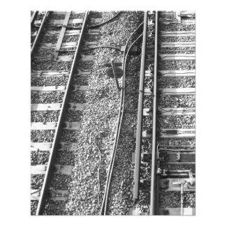 Railroad Tracks Picture. Flyers